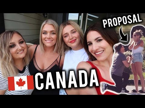 SURPRISE PROPOSAL! | LAKE HOUSE WEEKEND TRIP WITH FRIENDS! VLOG