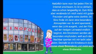 Учимся говорить по-немецки 52(поход в кино)