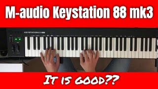 M-Audio Keystation 88 MK3 review