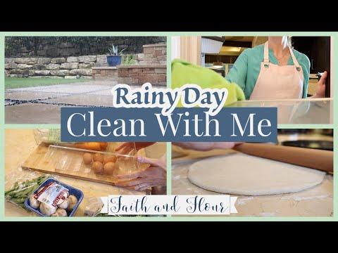 Rainy Day Clean With Me 2020   Staying At Home   Everyday Cleaning Motivation