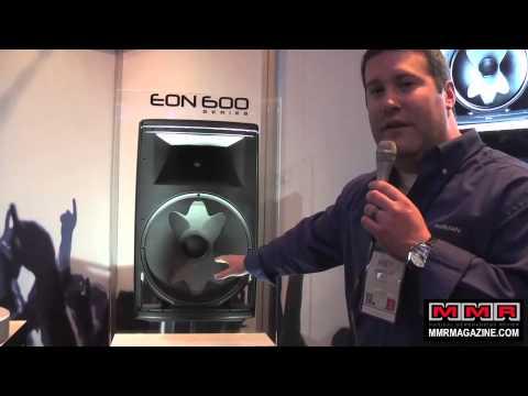 JBL's New EON 615 Speaker