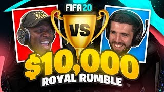 JJ VS JOSH - SIDEMEN FIFA 20 $10,000 ROYAL RUMBLE