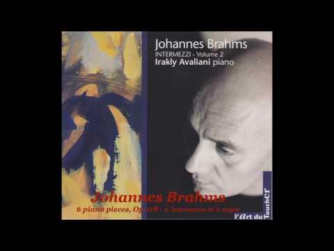 BRAHMS - 6 Klavierstücke, Op.118 by Irakly Avaliani
