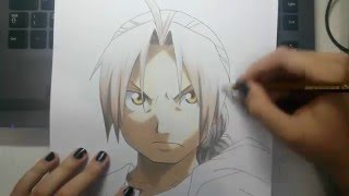 Speed Drawing - Edward Elric (FullMetal Alchemist)