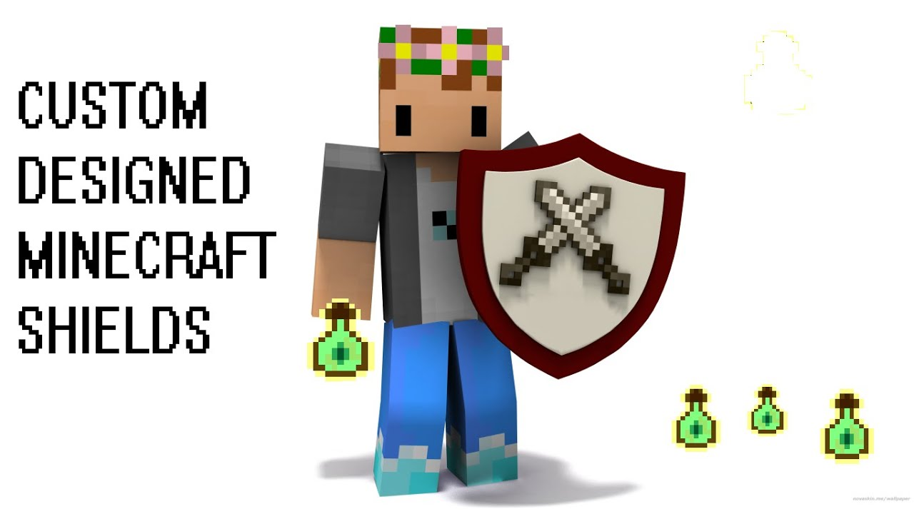 How To Custom Design Your Own Shields In Minecraft   1 9