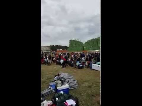 Waiting to get into TomorrowWorld!!!