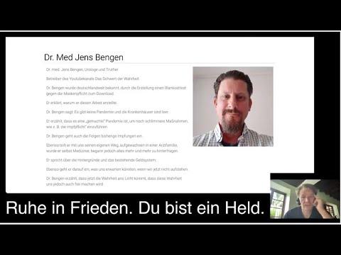 Dr Jens Bengen Selbstmord Kommentar von Bodo Schiffmann