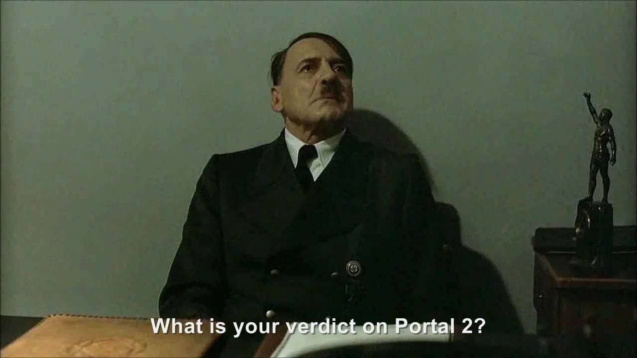 Hitler Reviews: Portal 2