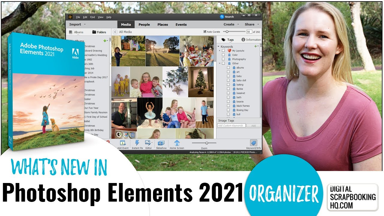Adobe Photoshop Elements 2021 Organizer Review: New Features
