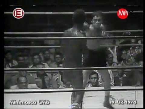 Freddy Castillo campeón Minimosca CMB 1978 - C13
