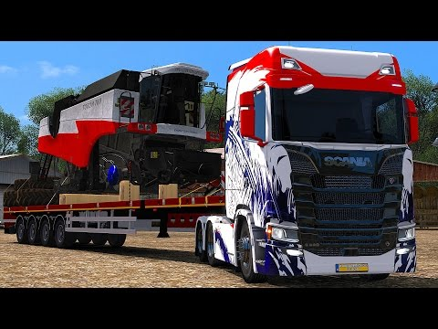 ETS 2 Mods - 2017 Scania S580 - Euro Truck Simulator 2