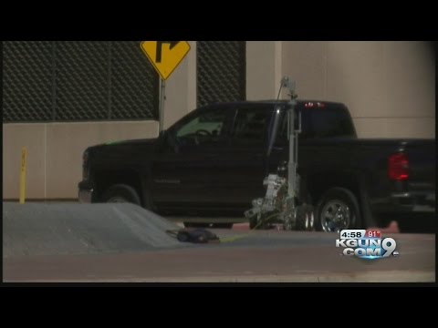 Police investigate suspicious package downtown