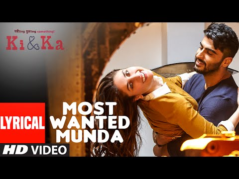 MOST WANTED MUNDA Lyrical Video Song | Arjun Kapoor, Kareena Kapoor | Meet Bros, Palak Muchhal