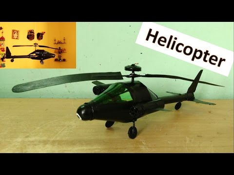 How To Make A String Guided Flying Helicopter