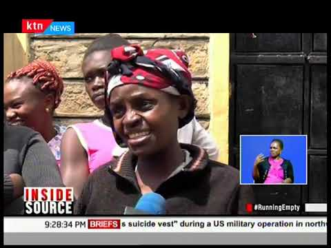 INSIDE SOURCE: #Running Empty, spotlight on Nairobi\'s water crisis