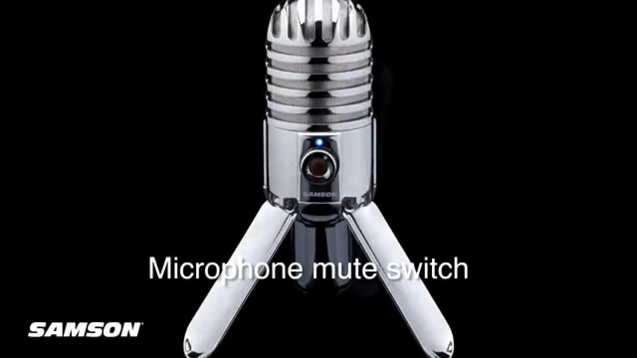 Samson Meteor Usb Microphone Jb Hi Fi Youtube