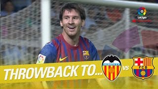 Resumen de Valencia CF vs FC Barcelona (2-2) 2011/2012