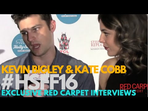Kevin Bigley & Kate Cobb ed at  Night of HollyShorts Film Festival ‎HSFF16
