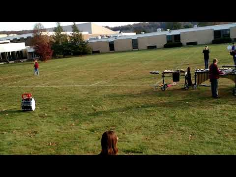 Saucon Valley Marching Band Rookies play alone