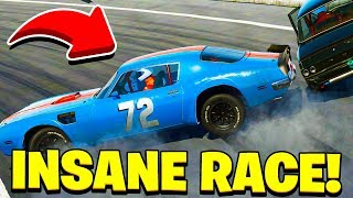 INSANE RACE! - Next Car Game: Wreckfest Gameplay - Wrecks & Races