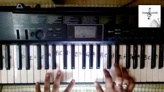 Bahubali Theme Song tutorial on piano
