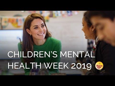 The Duchess of Cambridge marks Children's Mental Health Week 2019