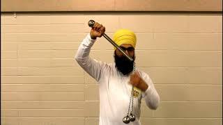 Sikh Martial Arts Gatka Tutorial 8, Kamand Torha