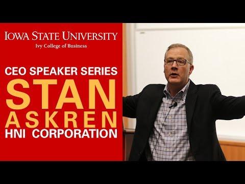 CEO Speaker Series - Stan Askren,