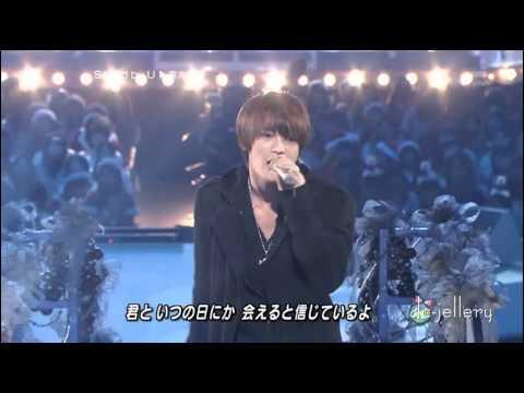 2009년 연말방송 재중이   Rainy blue