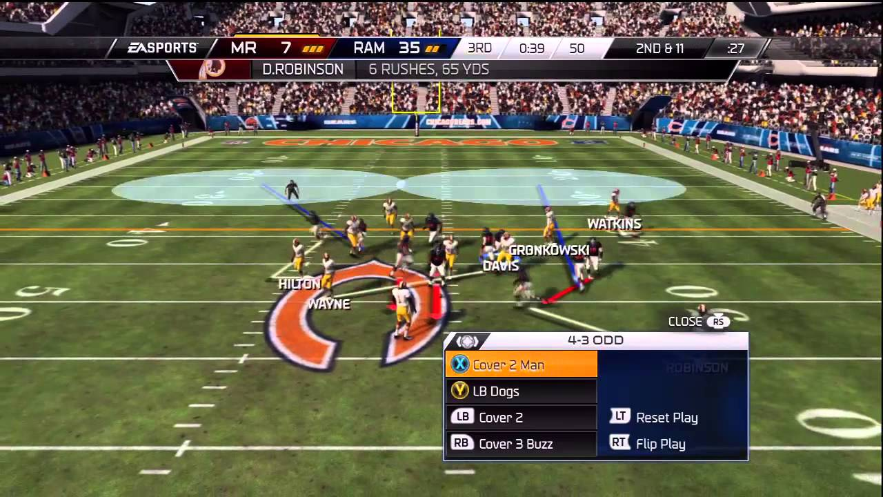 Madden 15 ultimate team gameplay walter payton is too clutch youtube - Walter payton madden 15 ...