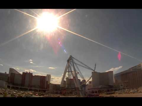 Caesars High Roller Observation Wheel Time-lapse - Vegas