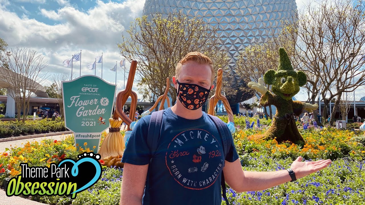 My First Visit to Epcot's Flower & Garden Festival! | Food, Fun & Time with Friends