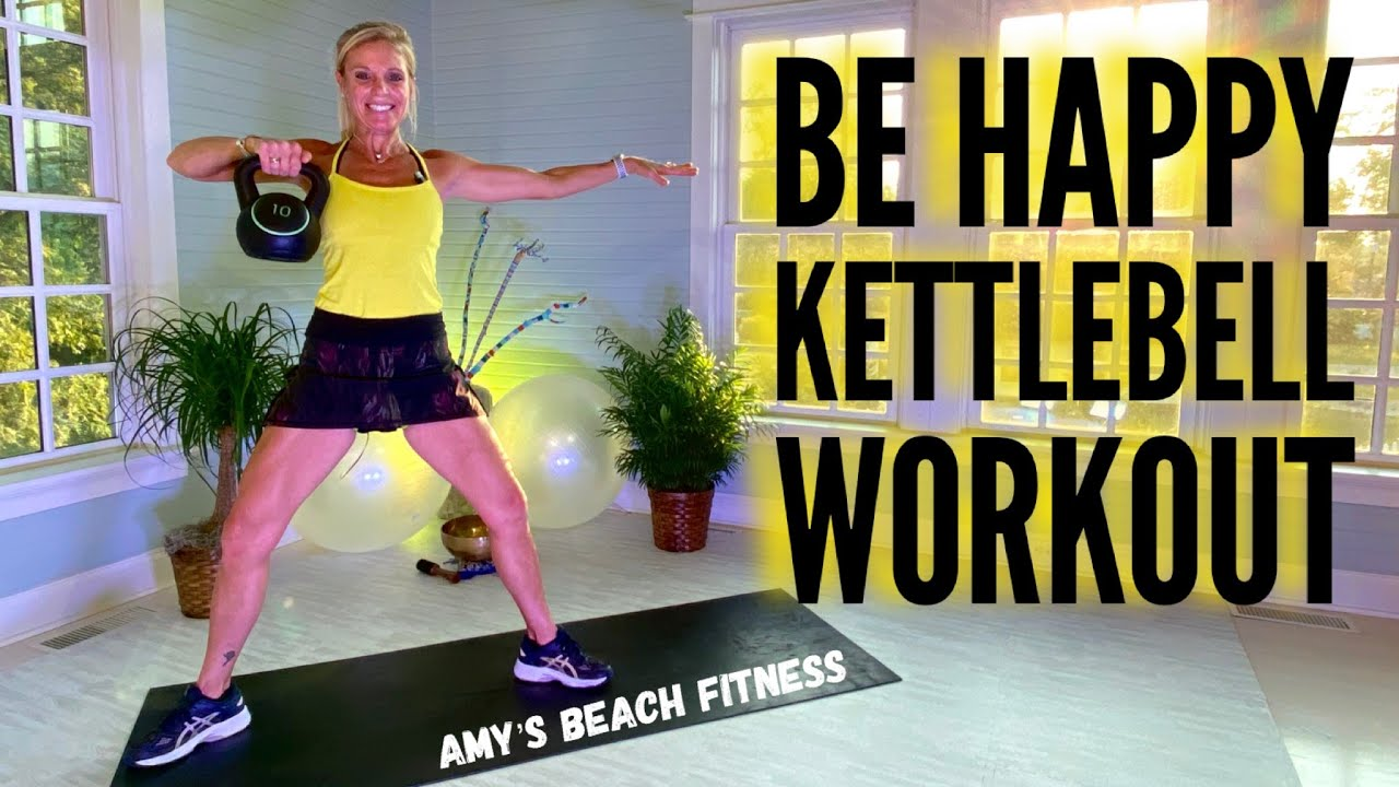 Be Happy Kettlebell Cardio Workout