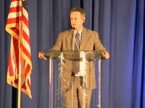 2008 Utah Democratic Convention - Chairman Wayne Holland