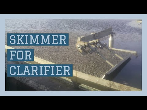 Indofab Skimmer Mechanism For Clarifier In Water Treatment Application