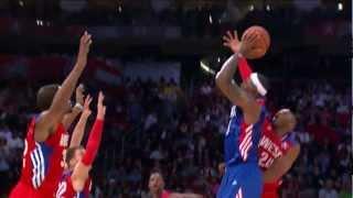 Kobe blocks LeBron twice