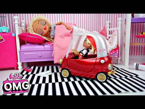 Poupée LOL OMG Swag & Petite soeur MC Swag Routine du matin | LOL Swag sisters Dolls Morning Routine