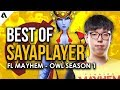 Best Plays of Florida Mayhem Sayaplayer | Overwatch League Season 1