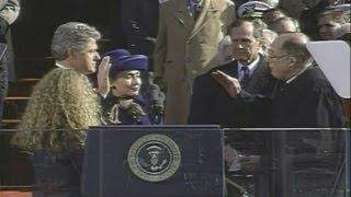Jan. 20, 1993: Inaugural Ceremonies for Bill Clinton