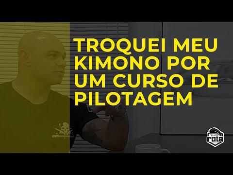 """TROQUEI MEU KIMONO PORUM CURSO DE PILOTAGEM"" | Marangoni | Papo de Rota"
