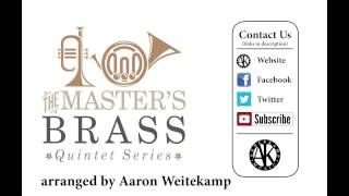 Video Joy to the World - Brass Quintet - sheet music available download MP3, 3GP, MP4, WEBM, AVI, FLV Agustus 2018