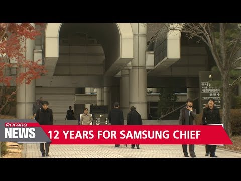 Prosecutors demand 12 year prison term for Samsung chief Lee Jae-yong