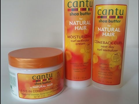 Cantu Shea Er For Natural Hair Product Review