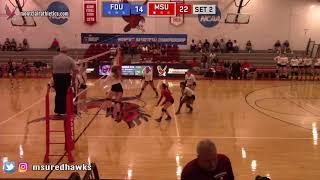 Montclair State Volleyball Highlights vs. FDU-Florham - 9/15/18