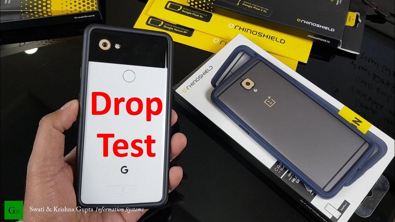 purchase cheap ffc44 62a4e Pixel 2 XL Drop Test with Rhinoshield Buper Case & Tempered Glass, Pixel 2  XL Accessories [Part 2]