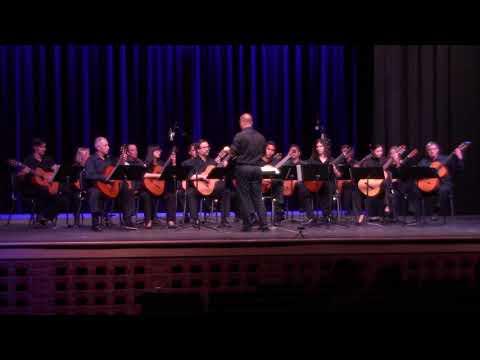Tucson Guitar Society Orchestra @ Pueblo High School, Sevilla by Isaac Albeniz