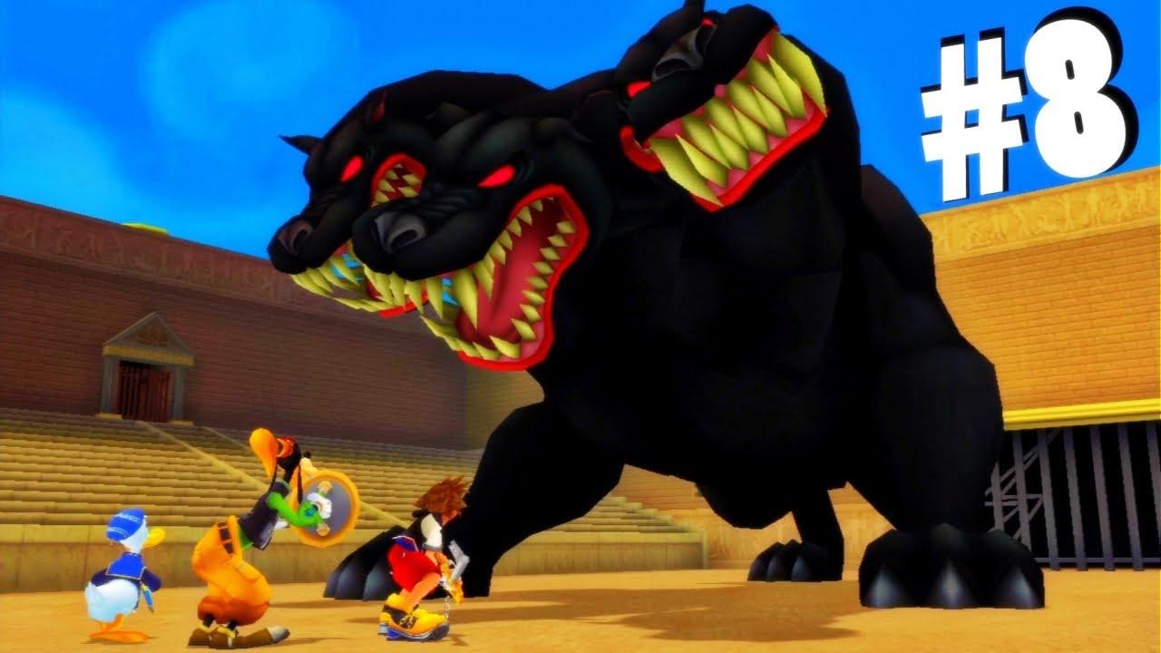 8 Kingdom Hearts Hd Remix Cerberus Boss Fight Proud