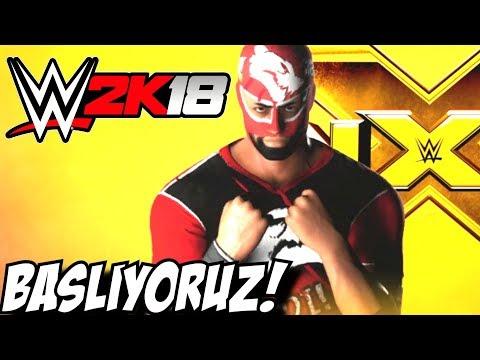 BIR EFSANE ! ÜMIDI MEN ! BAŞLIYOR ! WWE2K18 ! #1 thumbnail