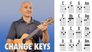 Play Songs in Different Keys - Ukulele Lesson