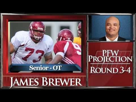 James Brewer Draft Profile